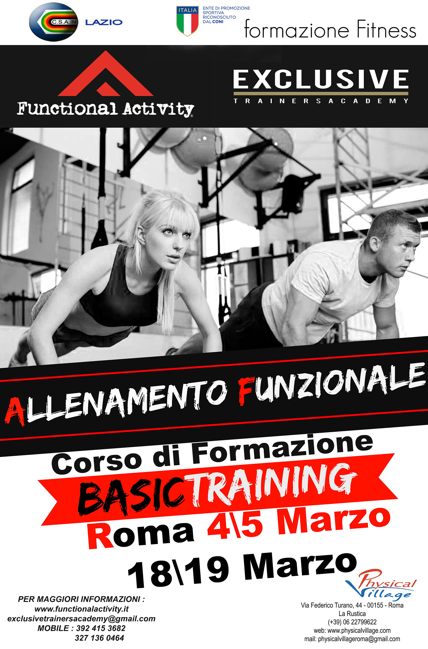 Livello 1:  Basic Training